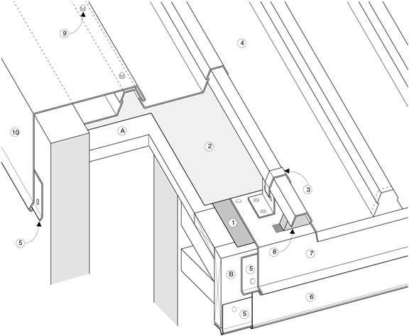 Slip Sheet Membrane : Asm details e eave gable protection for