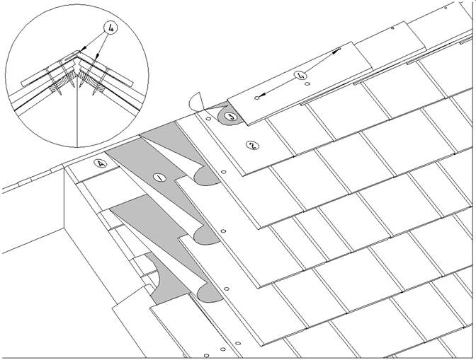 Cs Details E3 7 3 Hip Amp Ridge Caps Rcabc Roofing
