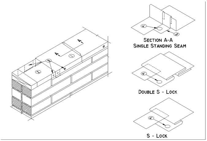 Mf Details G1 7 1 Metal Flashings Cap Flashings Joint