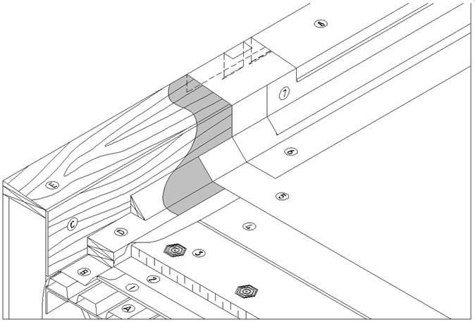 Sbs Details D1 7 2 1 Parapets Amp Copings Low Parapet